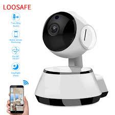 <b>LOOSAFE</b> 3MP <b>HD</b> Cloud Home Security <b>Wireless WI FI</b> Camera ...