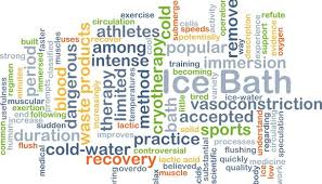 an ice bath vs ice wrap after exercise