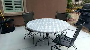elasticized table cover round outdoor tablecloth with elastic elasticized elasticized table cover pattern