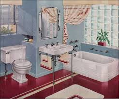 1940 Bathroom Design Custom Decorating