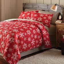 Mainstays Holiday Snowflake Printed Bedding Quilt Set, Red ... & Mainstays Holiday Snowflake Printed Bedding Quilt Set, Red Adamdwight.com