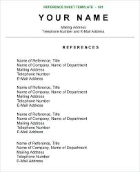 Resume References Format Extraordinary 28 Best Character Reference Format In Resume PelaburemasperaK