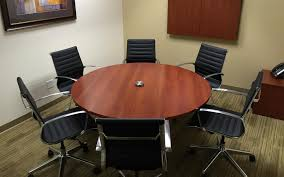 full size of office table varnished oak wood conference table mixed black acrylic chairs and