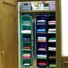 clothes organizer closet