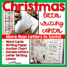 Primary Letter Writing Paper Christmas Writing Letter Writing Center