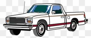 Seventies Pickup Truck - Clipart Pick Up - Free Transparent PNG ...