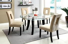 furniture round glass dining table unique fabulous set glass top extendable table bined and metal