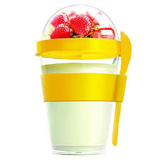 400ml Yogurt Container with Spoon <b>Ice cream</b> cup Water Bottle ...