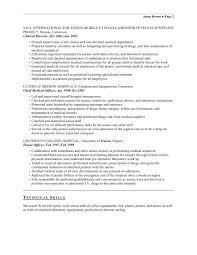 Phlebotomy Resume Example