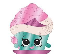 Shopkins 6 058 Cupcake Princess A Ultra Rare Shopkin