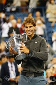 The ntc houses six indoor us specification hard courts, replicating grand slam surface conditions. New York September 9 Us Open 2013 Champion Rafael Nadal Holding Us Open Trophy During Trophy