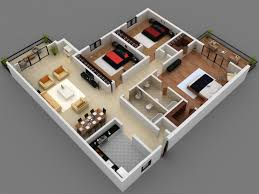 garage alluring 3 bedroom apartment house plans 7 best small courageous floor new three