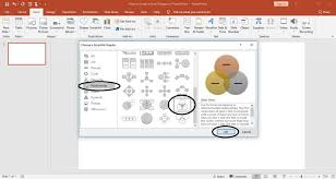 How To Add A Venn Diagram In Word How To Create A Venn Diagram In Powerpoint