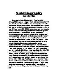 autobiography essay samples autobiographical narrative essay examples
