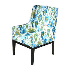 Blue Patterned Chair Enchanting Blue Floral Armchair Blue Floral Dining Chairs Tub Chair Patterned