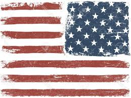 american template best american flag grunge background vector template horizontal