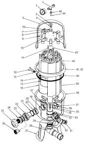 Pacfab purex turbo plastic filter replacement part schematic