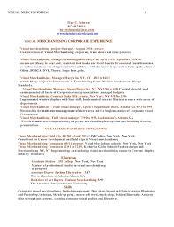 Resume Sample For Merchandiser Elegant Merchandising Resume Samples