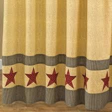 primitive star shower curtain primitive star shower curtain hooks