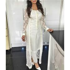 New Suit Design Pic New Designer Indo Western Suit Semi Stitched Off White
