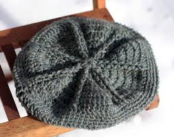 Crochet Beret Pattern Beauteous Star Beret Crochet Hat Knitting Patterns And Crochet Patterns From