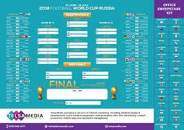 2018 World Cup Wall Chart Football World Cup Download 2018 Football Wall Chart