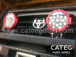 installation effect of dodge ram led work lights car exterior accessories