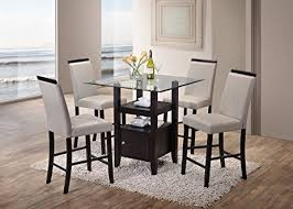 room chairs beautiful two tone wood dining post