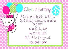 Hello Kitty Birthday Invitations Free Aplicativo Pro