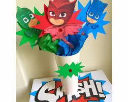 Pj Mask Party Decorations Pj mask party decorations Etsy 46