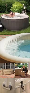 Inflatable Spa Tub: Economical luxury
