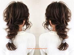 レイヤースタイルがかわいいヘアアレンジ Toiro Pr Hairarrangementlayer