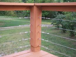 cable deck railing using home depot stuff by priscilla cable i89