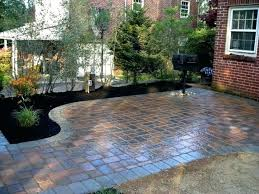 simple patio ideas on a budget. Diy Patio Ideas With Pavers Interior Stone On A Budget  Brilliant Cheap Large Size Simple