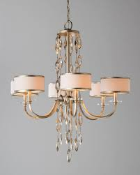 lighting and chandeliers counterpoint six light chandelier white