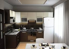 Small Open Kitchen Stunning Colourful Kitchen Design With White Cabinets With Built