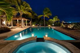 home swimming pools at night. Home Swimming Pools At Night Image Gallery Of U