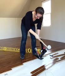 install hardwood flooring sherry nailing