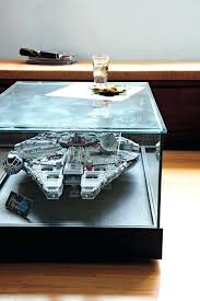 star wars coffee table book collect toys shoes or pottery here are great ideas to showcase star wars coffee table