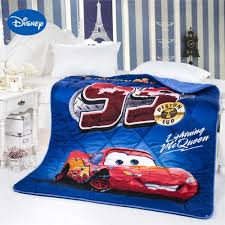 lightning mcqueen cars printed comforter disney cartoon character bedding cotton cover boys quilt single twin