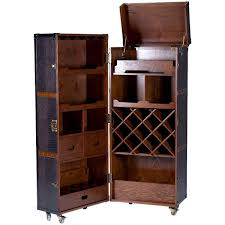 Trunk Style Mini Bar Retro Drinks Cabinet Inspired By