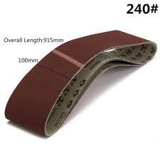 Lifreer <b>3pcs 915x100mm</b> 240 Grit Sanding Belts Abrasive Tools ...