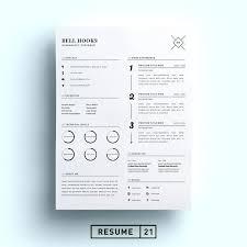 Resume Templates Creative Gorgeous Minimalist Resume Template Word Free Minimal Designer Templates