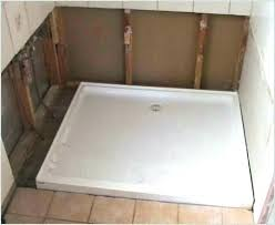 replacement shower pan tile shower pans shower bases tile tile shower base kit custom tile shower