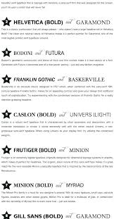 Cool Resume Fonts Common Font Size And Style Thekindlecrew Com