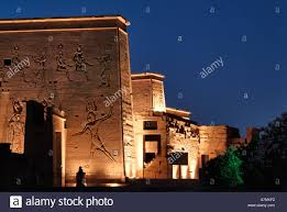 Sound And Light Show Philae Temple Sound And Light Show Temple Of Isis Philae Aswan Egypt