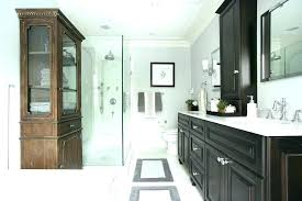 refacing bathroom cabinets refinished bathroom cabinets refinished
