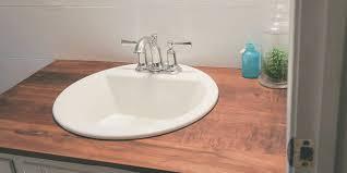 build wood countertops bathroom upgrade diy wood countertops diy bathroom countertops budget