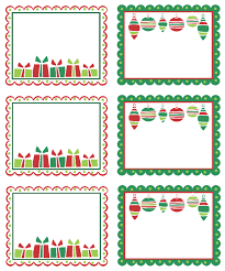 Christmas Tag Template Christmas Labels Ready To Print Worldlabel Blog