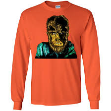 Wolfie Asstd Colors Long Sleeve T Shirt